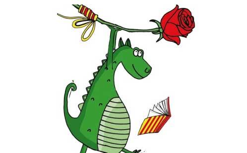 El cavaller i el drac (Sant Jordi) - Anem de Colònies
